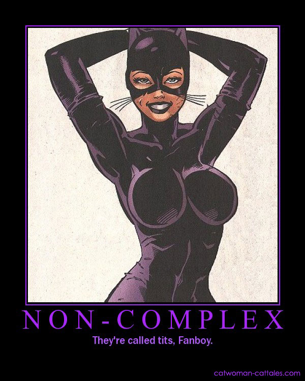 Batman Motivation Poster: Catwoman - Noncomplex
