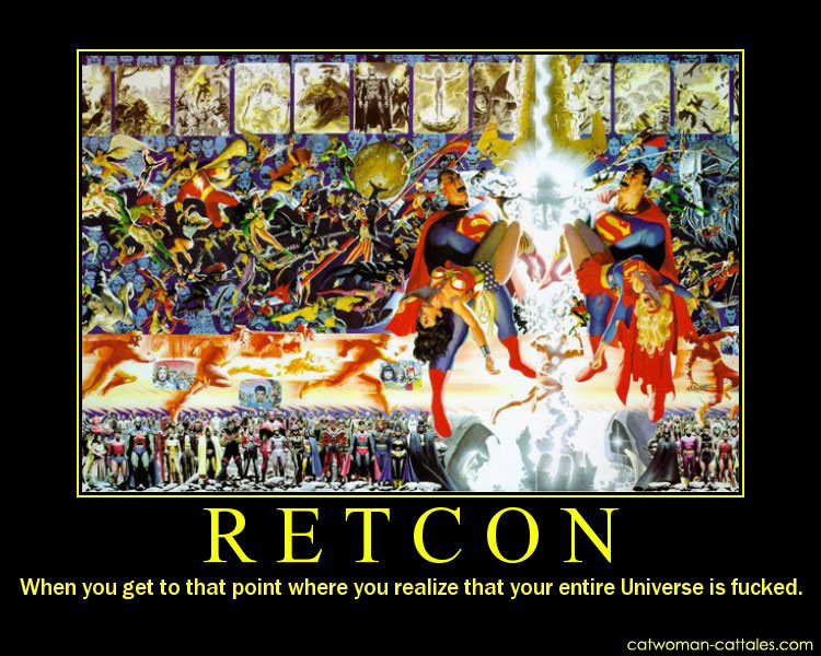 DCU Motivation Poster: Retcon