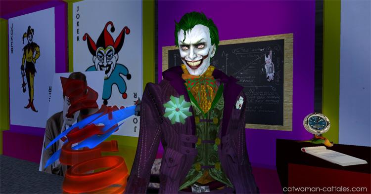 Character Portrait: Joker at the Ha-Hacienda
