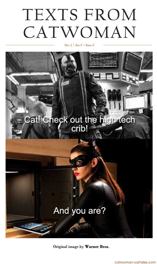 Texts from Catwoman casts Bane as Mark Zuckerberg in hilarious Texts from Hillary Parody