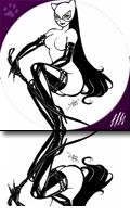 Catwoman B&W: Kickass