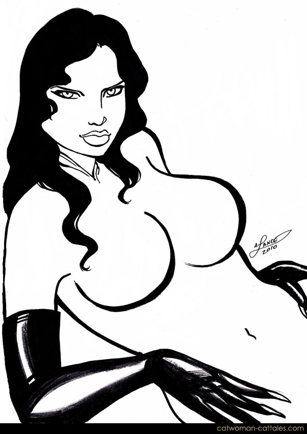 Catwoman Black & White: Sultry Selina