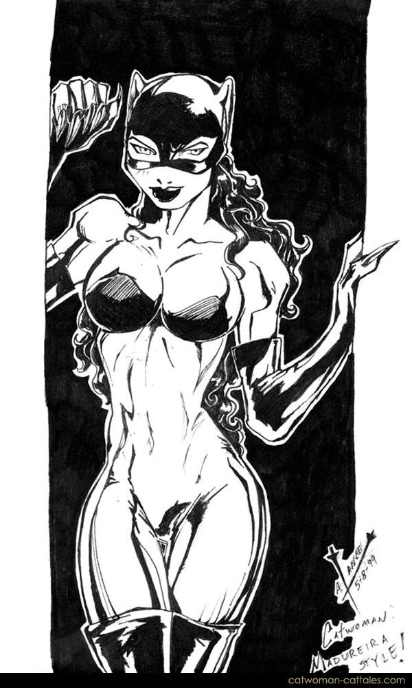 Catwoman Black & White: Madureira-style