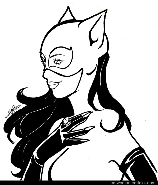 Catwoman Black & White: Perfect Gem