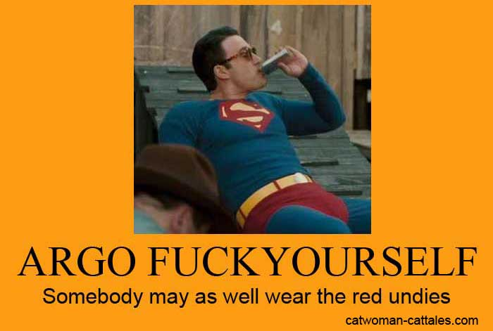 Argo Fuck Yourself - Somebody may as well wear the red