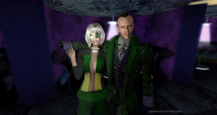 Riddler and Game Theory: A Night at the Iceberg