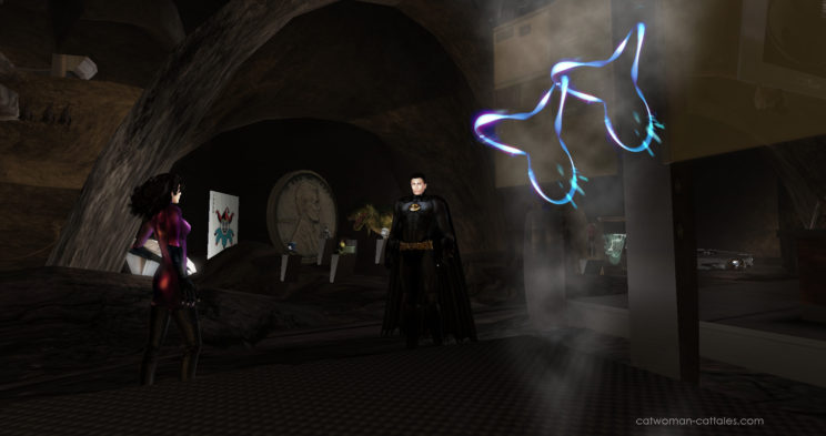 Batman and Catwoman: Entangled Particles