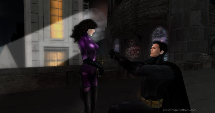 Batman and Catwoman:Marry Me