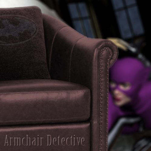 Batman and Catwoman in Cat-Tales: Armchair Detective