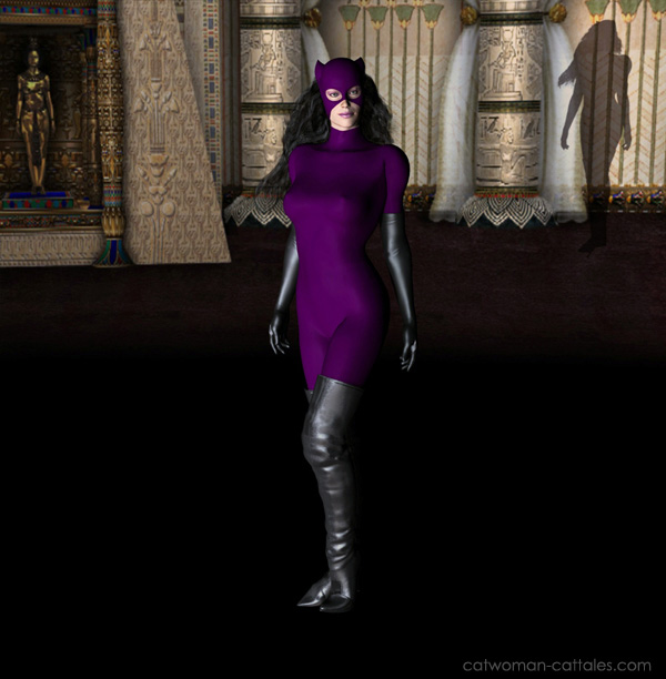 Catwoman - Museum Encounter - A Girl's Gotta Protect Her Reputation