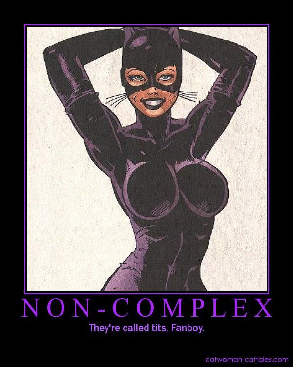Batman Motivation Poster: Catwoman - Noncomplex