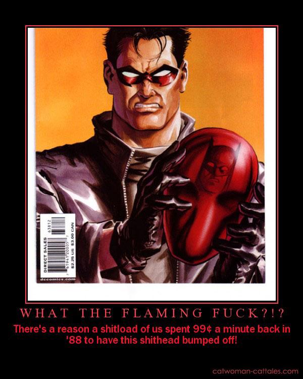 Batman Motivation Poster - Jason Todd - Red Hood