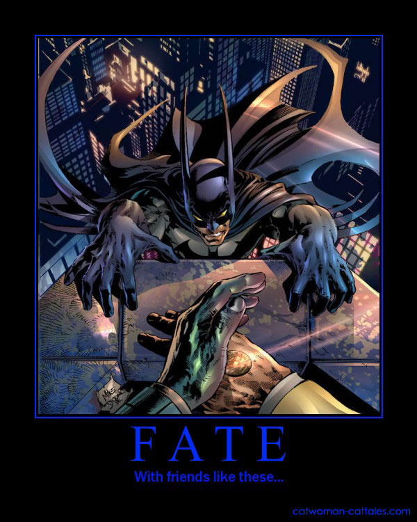 Batman Motivation Poster: Two-Face