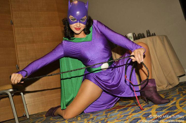 cosplay-catwoman-brave-and-the-bold & Cat-Tales Batman/Catwoman Metafiction by Chris Dee
