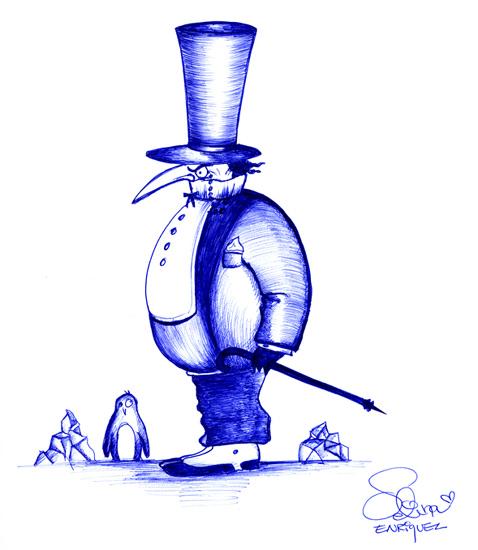 Penguin (Oswald Cobblepot) by Selina Enriquez
