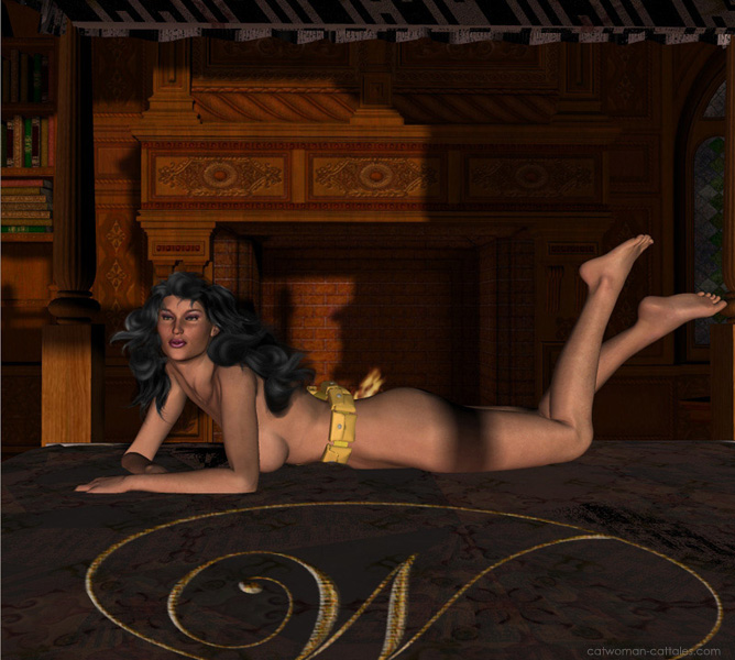 "Selina, nude, ""Kitten, have you seen my belt?"""