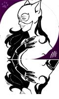 Catwoman B&W: Perfect Gem