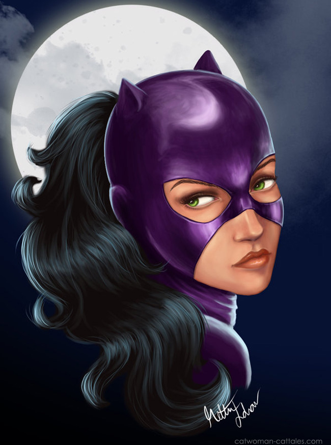 Selina Kyle in Catwoman: Moon by Remidar
