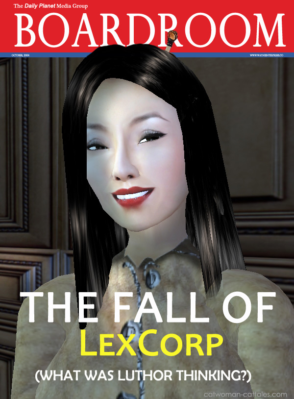 Talia al Ghul, aka Talia Head, CEO of LexCorp