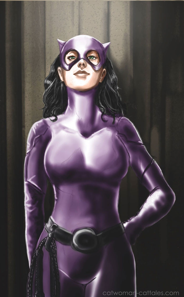 Catwoman Her Own Law by Erwan Le Goupil