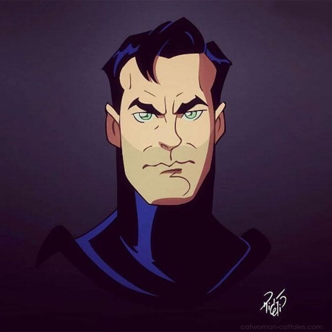 Bruce Wayne by Rick Celis