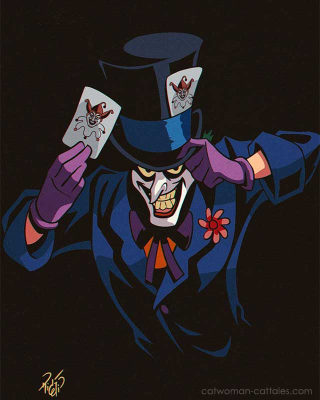 Joker as Mad Hatter by Rick Celis