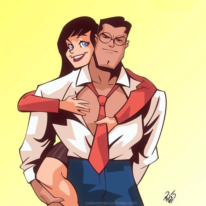 Lois and Clark by Rick Celis
