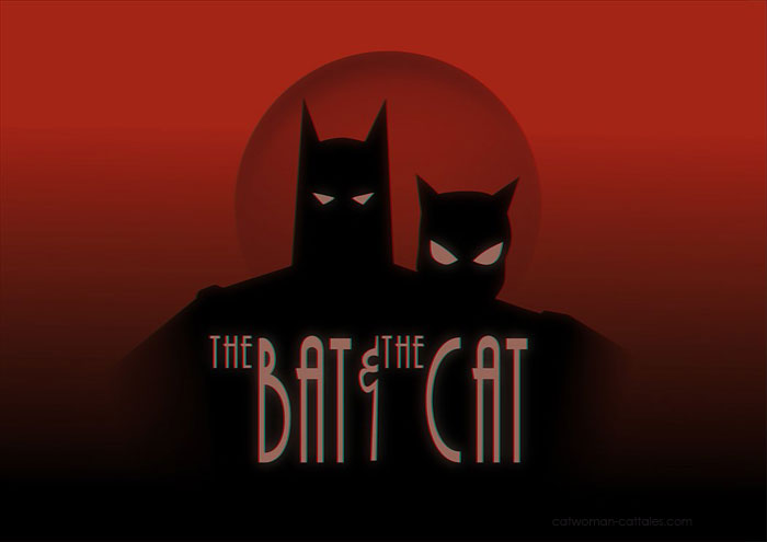 The Bat and The Cat by Rick Celis after Jim Lee